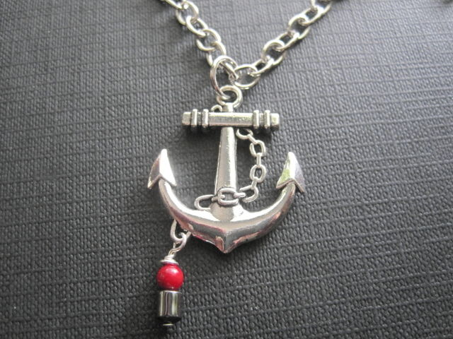 Anchor Nautical Necklace - product images  of