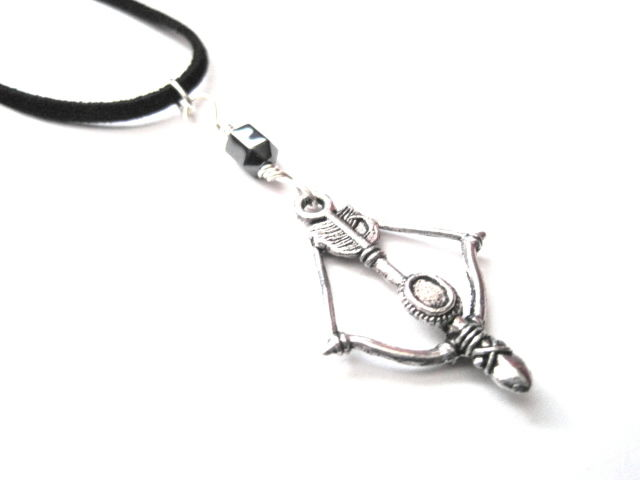 Archer Crossbow Choker Cord Necklace  - product images  of