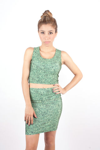Grass,Crop,Top,handmade top grass green crop top spandex nastygal forever21 madeinusa brooklyn