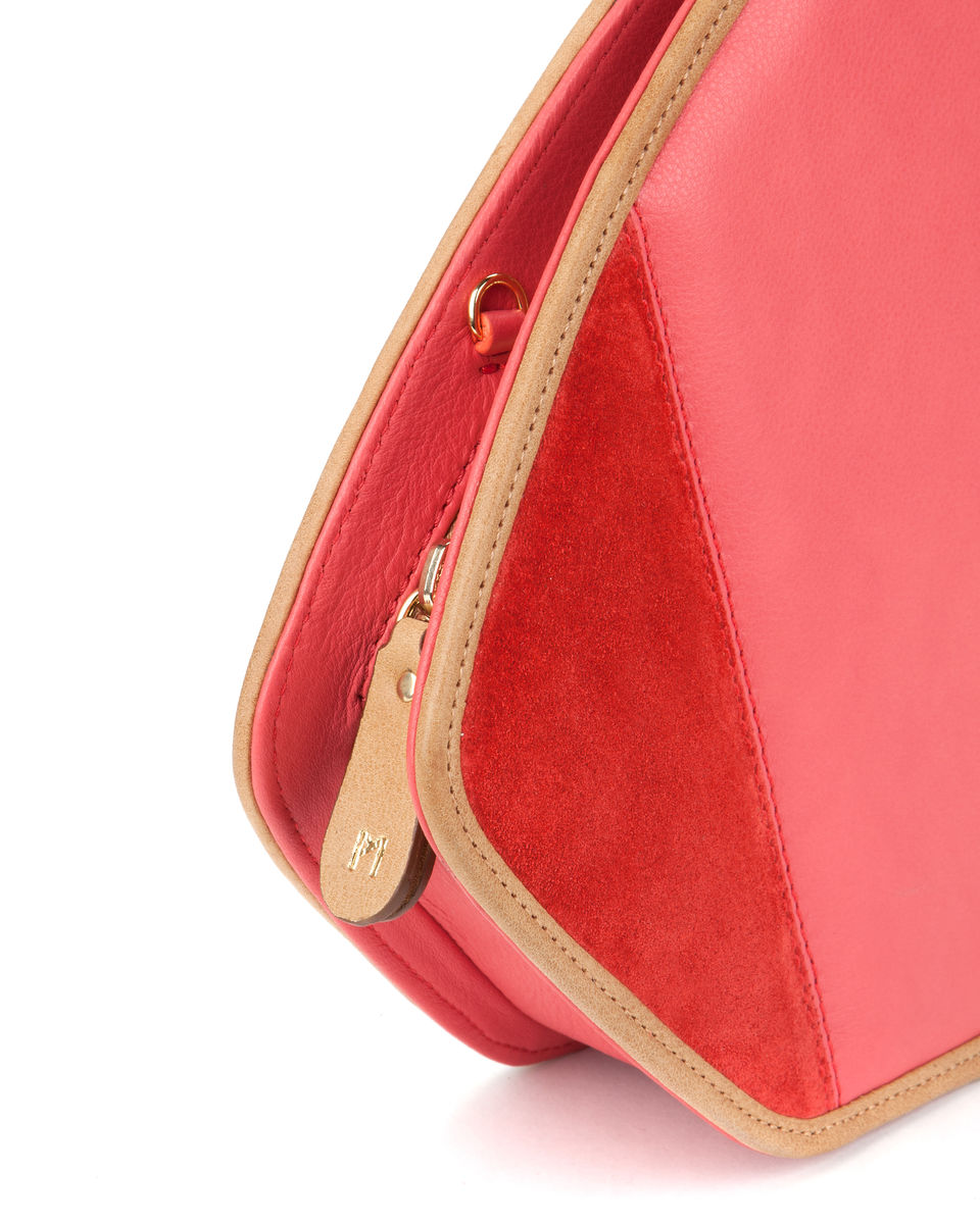 Friday // red leather and suede - product images  of