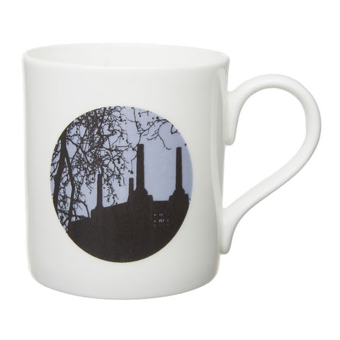 Old,Battersea,Power,Station,English,Bone,China,Mug,Old Battersea Power Station Mug English Bone China