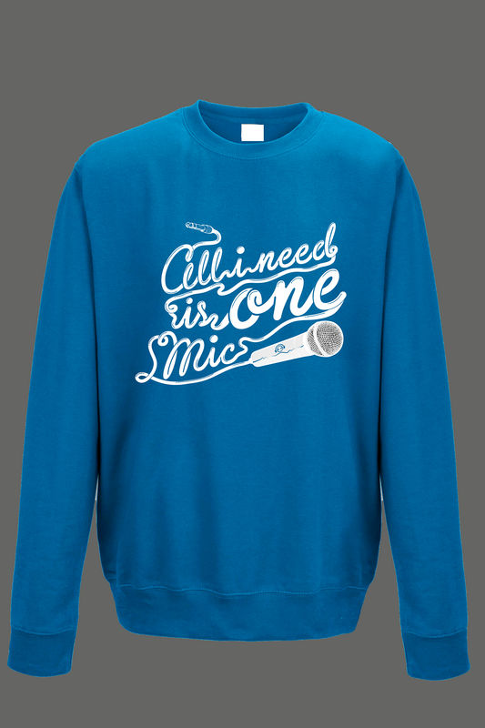 AVMotion One Mic Sweatshirt - Blue - product images