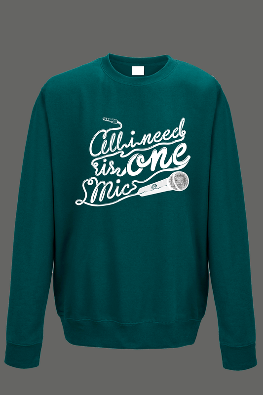 AVMotion One Mic Sweatshirt - Jade Green - product images