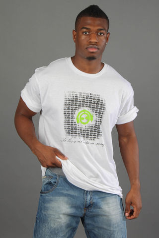 Male,Brickwork,T-shirt;,green/lime/illuminous,Logo,bricks, brickwork, work, logo, cotton, green, lime, illuminous