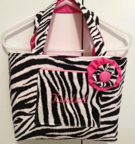 Zebra Animal Print-Small tote bag - product images  of