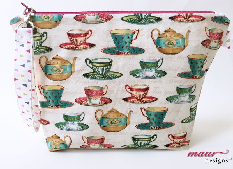 Tea Cups and Tea Pots - Project Bag - product images  of