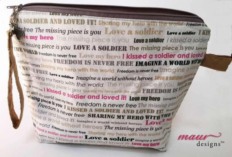 Kiss a Soldier - Project Bag - product images  of
