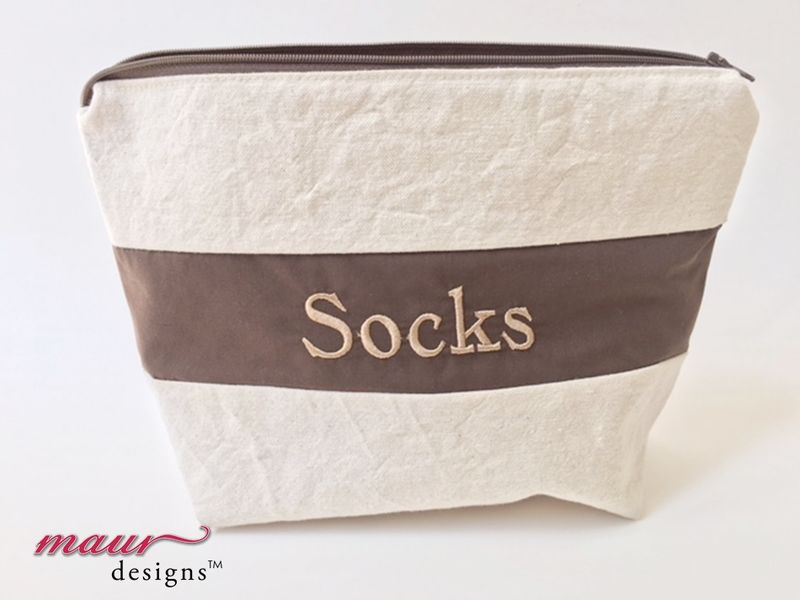 Brown Socks - Project Bags - product images  of