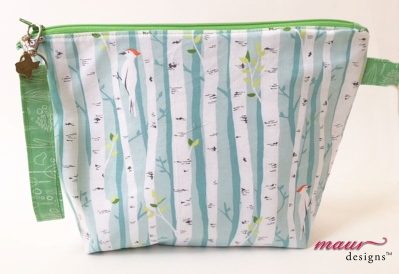 Nature Tree and Woodpecker-Project Bag - product images  of