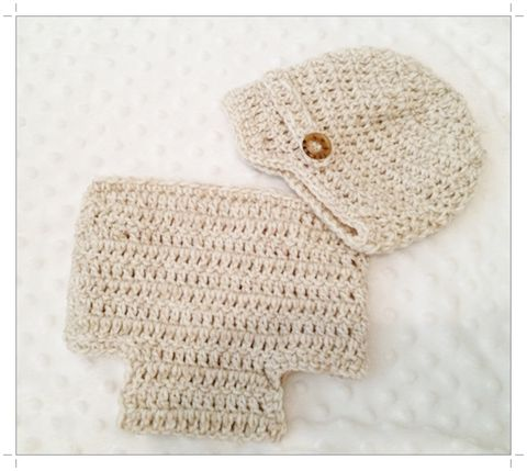 Boys,Beige,Newborn,Newsboy,Hat,and,Diaper,Cover,Set,Boys Newsboy Hat and Diaper Cover Set, Hat, Newsboy Hat