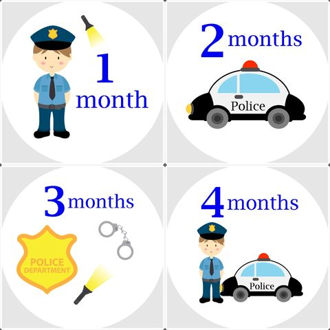 Police,Onesie,Birthday,Stickers,Police Onesie Stickers, Police woman, boy police, birthday recording stickers, baby shower gifts, baby shower