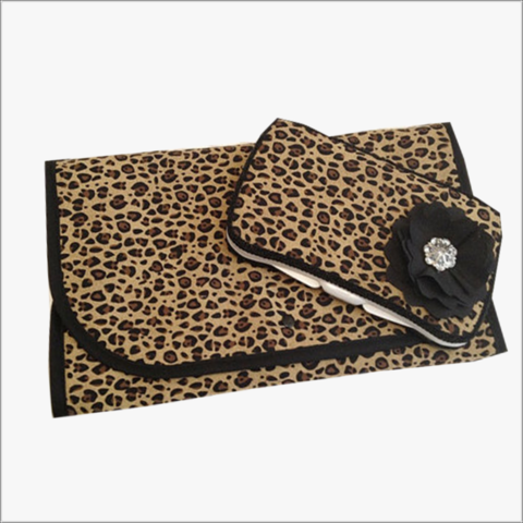 Leopard,Diaper,Wipe,Case,and,Changing,Pad,Leopard Print Wipe Case, Leopard Changing Pad, Designer Fabric set, Newborn, baby shower gift, Animal Print Gift Set