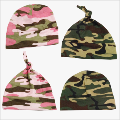 Camoflauge,Pink,or,Green,Newborn,baby,hat,Camo newborn hat, Green Camo hat, Pink Camo hat, camo