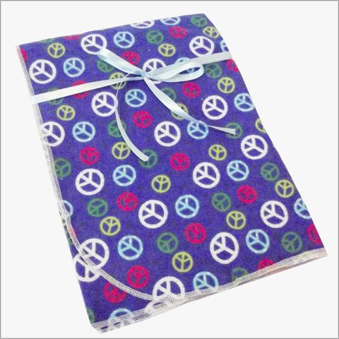 Blue,Peace,Receiving,Blanket,Blue Peace sign blanket, boys receiving blanket gift idea, swaddler