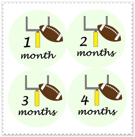 Football,Monthly,Birthday,Stickers,monthly onesie stickers, birthday growth stickers, football, photo prop