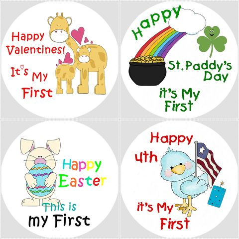 My,First,Holiday,Onesie,Stickers,plus,One,Milestone,sticker,First Holiday Onesie Stickers, First Tooth Onesie Sticker, Baby gifts, Baby Shower Gift Idea, Newborn, Holiday Stickers