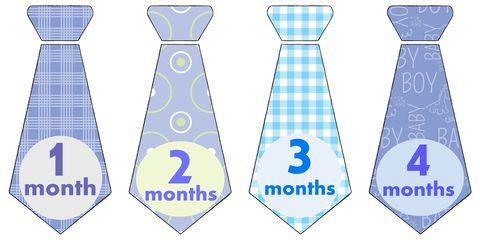 Boys,Blue,Necktie,Monthly,Onesie,Stickers,for,Photo,Props,Boys Tie Onesie Stickers, necktie stickers, blue, gingham, tie stickers, baby shower gift idea, photo props for boys