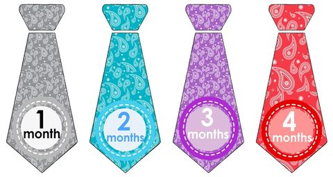 Boys,Paisley,Tie,Onesie,Stickers,for,photo,props,Tie onesie stickers, monthly onesie stickers for boys, Paisely tie stickers, photo props for boys, monthly onesie stickers, baby shower gifts