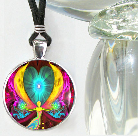 Chakra,Energy,Healing,Jewelry,,Angel,Pendant,Necklace,Seeds,of,Change,chakras, hippie, boho, bohemian, festival, chic, new age, psychedelic, metaphysical, blue, purple, teal, abstract, necklace, pendant, pendant necklace, reiki, healing, energy, spiritual, jewelry, meditation, chakras, angel, yoga, alternative healing, visi