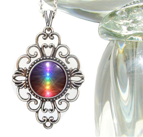 Unique,Chakra,Jewelry,,Reiki,Necklace,,Energy,Art,Pendant,Chakra,Balance,rainbow jewelry, rainbow necklace, chakra, chakra jewelry, chakra necklace, chakra pendant, reiki, reiki jewelry, reiki necklace, reiki pendant, reiki healing, reiki energy healing, energy healing, pendant, necklace, jewelry, spiritual jewelry