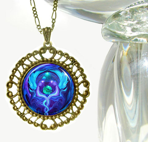 Purple,Blue,Necklace,,Twin,Flames,Pendant,,Angel,Necklace,Healing,Circle, metaphysical, blue, purple twin flames, earth, healing circle, abstract, necklace, pendant, pendant necklace, reiki, healing, energy, spiritual, jewelry, meditation, chakras, angel, yoga, alternative healing, visionary, art