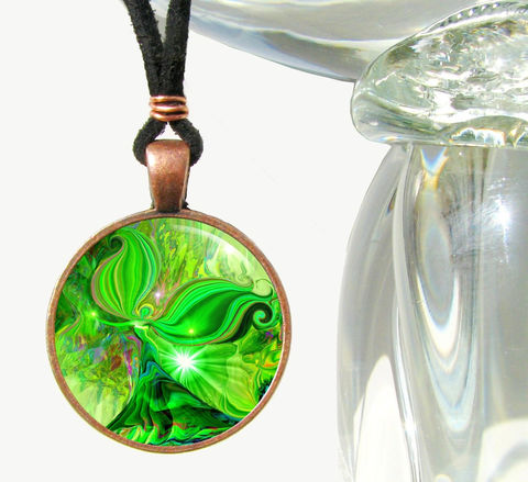 Green,Heart,Chakra,Necklace,,Angel,Jewelry,,Energy,Pendant,Heart,Healer,heart chakra, green, necklace, pendant, pendant necklace, reiki, healing, energy, spiritual, jewelry, meditation, chakra, angel, yoga,