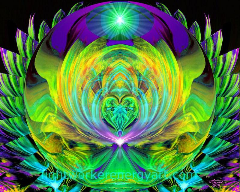 Chakra Healing Reiki Energy Art Print Quot Lotus Quot Primal Painter