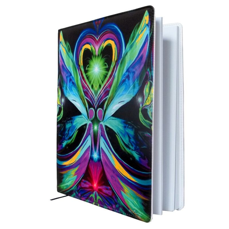 "Reiki Sketchbook, Twin Flames Journal, Reiki Healing Notebook ""Unconditional Love"" - product images  of"