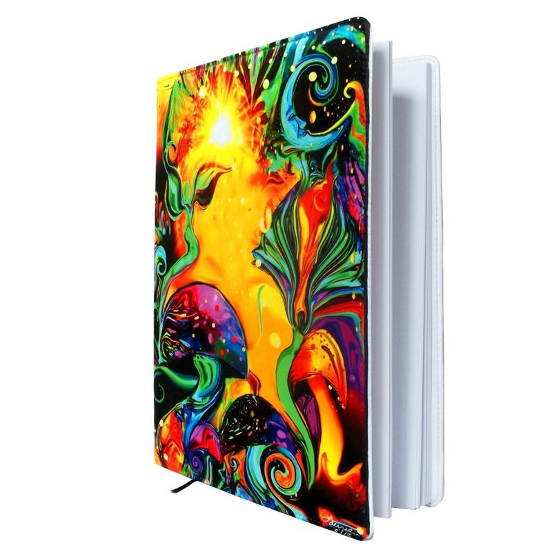 "Fairy Fantasy Art Sketchbook, Reiki Angel Journal, Spiritual Healing Notebook ""Waking Life"" - product images  of"
