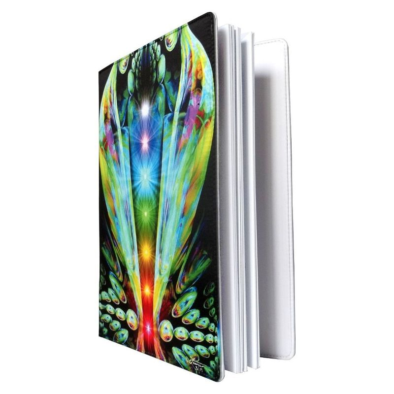 "Chakra Notebook, Reiki Journal, Abstract Art Sketchbook ""Emergence"" - product images  of"