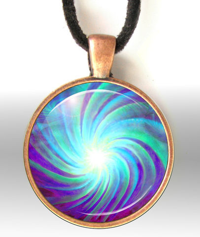 Blue,Chakra,Jewelry,,Reiki,Necklace,,Energy,Art,Pendant,Swirl,reiki necklace, Metaphysical,chakra,chakra_pendant,chakra_jewelry,reiki,reiki_jewelry,energy_art,energy,pendant_necklace,round,blue,swirl,energy_necklace,primalpainter,metallic_photo_print,antique_copper_finish_metal_bezel,magnifying_glass_dome,blac
