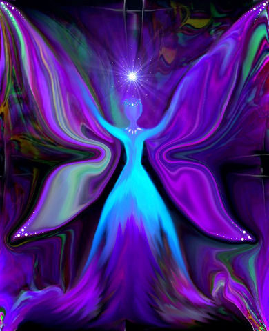 Fairy,Art,,Blue,Wall,Decor,,Reiki,Angel,Energy,Art,Print,Angel,of,the,Realm,fairy art, fairy decor, blue purple, primal painter, primalpainter, twin flames, twin souls, violet flame healing, violet flame, chakra art, reiki art, visionary art, rainbow art, angel art, digital art, psychedelic art, yoga room, meditation, spiritual a