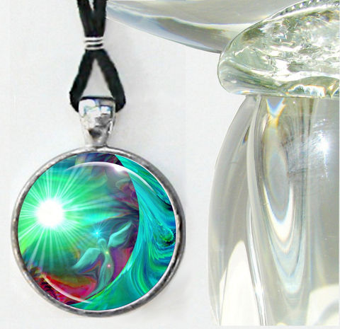 Green,Heart,Chakra,Necklace,,Angel,Art,,Reiki,Jewelry,Heart,Healing, necklace, pendant, pendant necklace, reiki, healing, energy, spiritual, jewelry, chakras, hippie, boho, bohemian, festival, chic, new age, psychedelic, metaphysical, green, moon, abstract, meditation, angel, yoga, alternative healing, vis