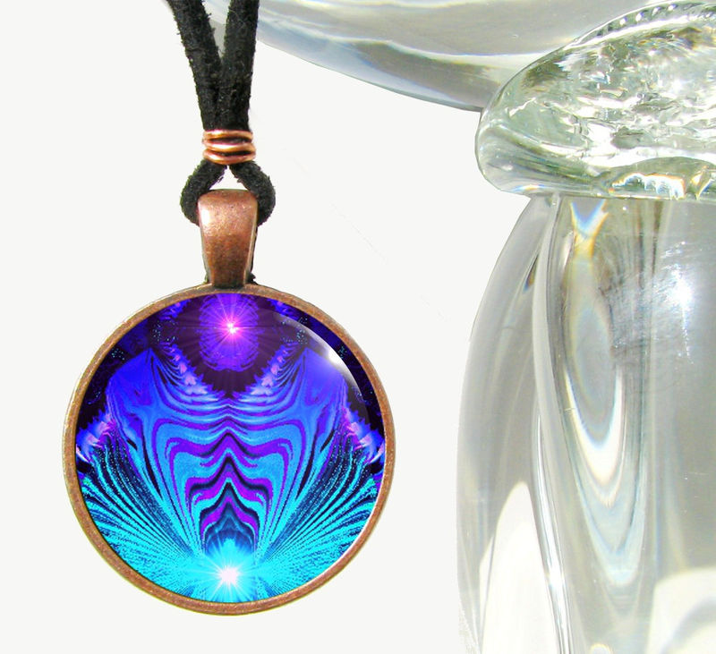 Throat chakra necklace third eye jewelry reiki energy pendant throat chakra necklace third eye jewelry reiki energy pendant intuitive truth product mozeypictures Image collections