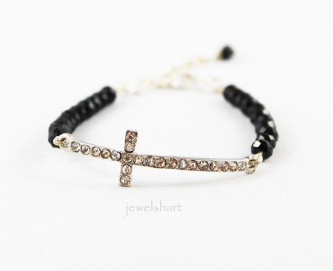 Sideways,Cross,Black,Crystal,Bracelet,Jewelry,Beaded,cross_bracelet,sideway_cross,sideways_cross,crystal_bracelet,christian_jewelry,side_ways_cross,black_cross_bracelet,religious_jewelry,cross_jewelry,spiritual_bracelet,religious_bracelet,spirtual_jewelry,black_bracelet,crystal beads