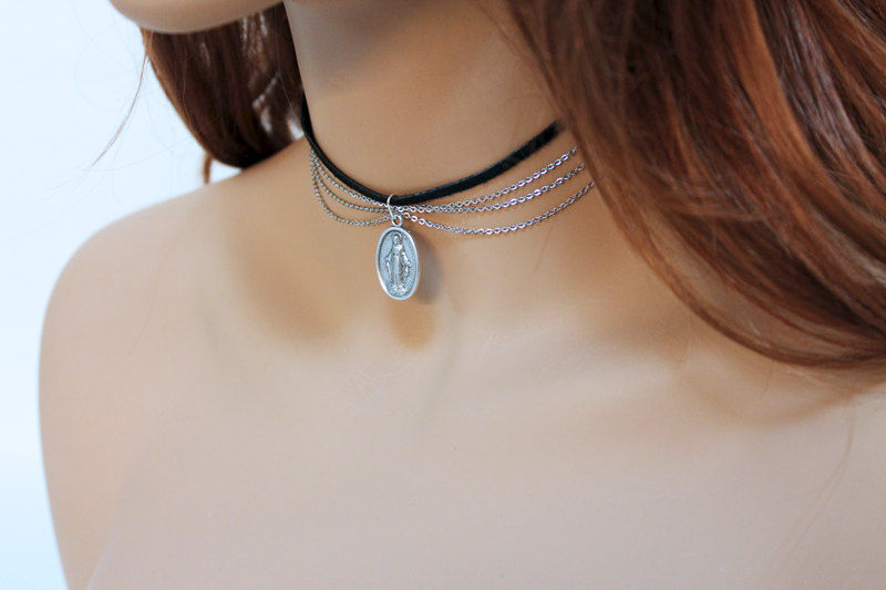 Spiritual Choker Necklace - product images  of