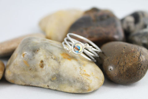 Silver,Wire,Wrapped,Swarovski,Crystal,Ring,Jewelry,wire_wrapped_ring,womens_ring,ladies_ring,wrapped_ring,wire_wrapped,multi_strand,silver_ring,swarovski_crystal,silver_wire_wrap,wrapped_silver_ring,jewelshart,silver_wire_wrapped,silver_wire_ring,non tarnishing lead free silver wire,s