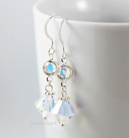Elegant,Crystal,Dangle,Earrings,Jewelry,crystal_earrings,crystal_drop_earring,bridal_earrings,dangle_earring,sterling_silver,bridal_jewelry,wedding_jewelry,elegant_earrings,bridesmaid_jewelry,special_occasion,bridesmaid_gift,gift_idea,crystal_dangle,sterling silver,swaro