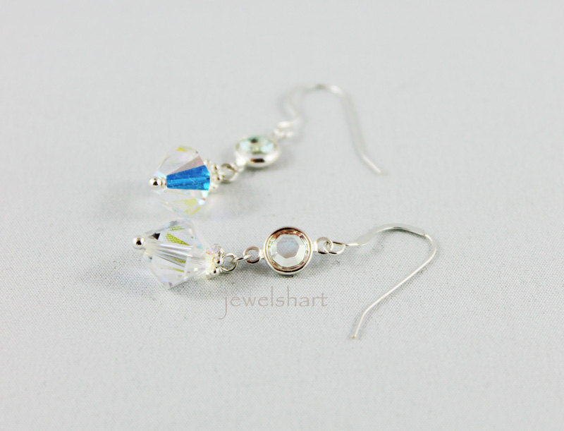 Elegant Crystal Dangle Earrings - product images  of