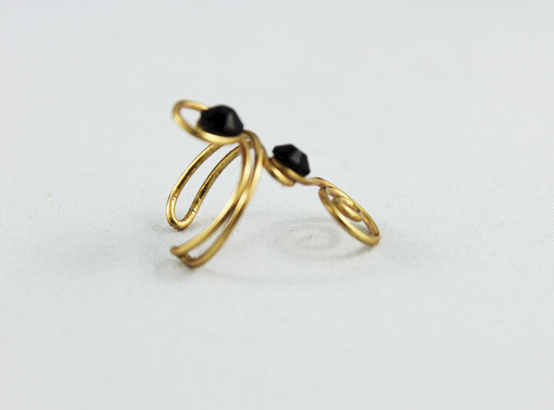 Adjustable Knuckle Ring TRG102 - product images  of