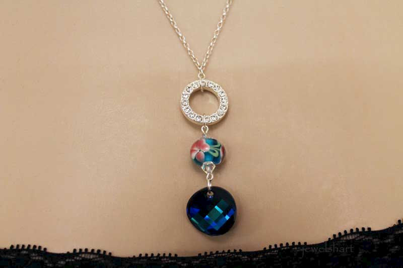 Blue Pendant Necklace - product images  of