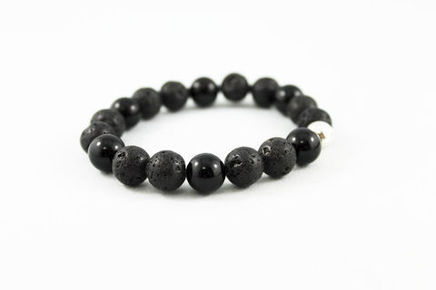 Black,Lava,Unisex,Stack,Bracelet,Jewelry,Beaded,onyx_bracelet,beaded_bracelet,stretch_bracelet,mens_bracelet,womens_bracelet,unisex_bracelet,lava_bead_bracelet,black_bracelet,stack_bracelet,mens_onyx_bracelet,lava_bracelet,stretchy_bracelet,mens_jewelry,lava beads,shiny onyx bea