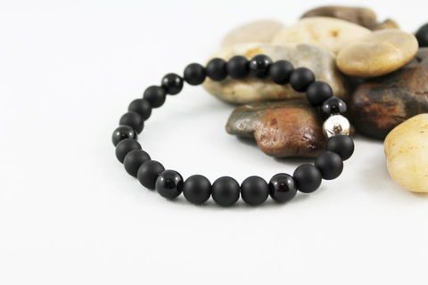 Unisex,Black,Onyx,Stretch,Stacking,Bracelet,Jewelry,Beaded,onyx_bracelet,stacking_bracelet,black_bracelet,beaded_bracelet,stretch_bracelet,stretchy_bracelet,mens_bracelet,shiny_onyx_bracelet,bead_bracelet,womens_bracelet,unisex_bracelet,mens_black_onyx,matte_onyx,onyx,elastic cord