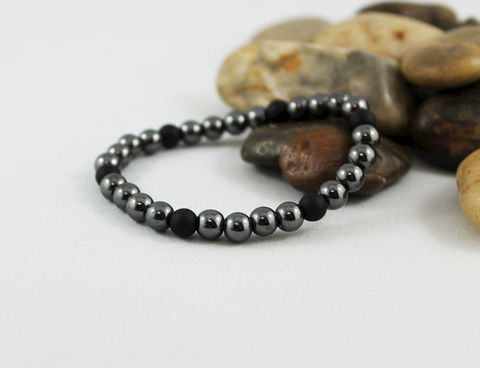 Unisex,Hematite,Black,Onyx,Bracelet,Jewelry,Beaded,onyx_bracelet,stacking_bracelet,beaded_bracelet,stretch_bracelet,stretchy_bracelet,mens_bracelet,bead_bracelet,womens_bracelet,unisex_bracelet,mens_black_onyx,hematite_bracelet,unisex_hematite,stack_bracelet,hematite beads,onyx bea