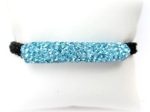 Blue,Pave,Bracelet,,Adjustable,baby blue beaded bracelet,light blue pave bracelet,blue pave bracelet,beaded stretch bracelet,baby blue,light blue