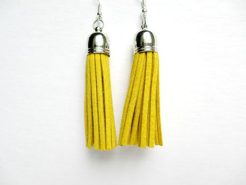 Mustard,Tassel,Earrings,,Yellow,Fringe,Earrings,yellow tassel earrings,mustard tassel earrings,tassel earrings,fringe earrings,yellow fringe earrings