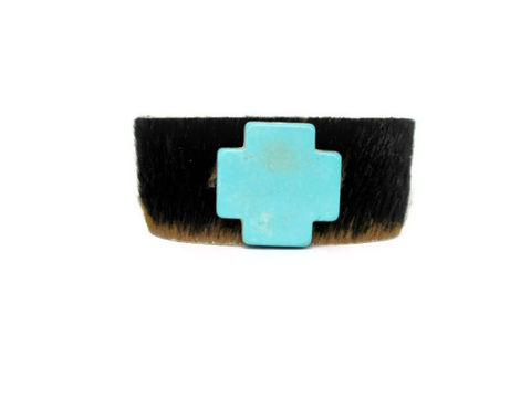 Cow,Leather,and,Cross,Stone,Cuff,cow leather cuff,leather cuff,cross cuff,cuff bracelet,leather bracelet