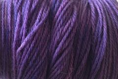 Hydrangea,Purple,Hand,Dyed,Merino,Yarn,Worsted,Weight,Hand Dyed, Merino Wool Yarn Worsted Weight Purple