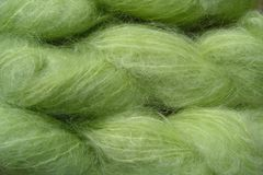 Rain,Green,Mohair,Yarn,Fingering,Weight,Hand Dyed Mohair Yarn Fingering Weight Green eweandmeyarns.com