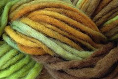 Fallen,Acorn,Hand,Dyed,Wool,Pencil,Roving,Bulky Yarn Hand Dyed Yellow Green Brown